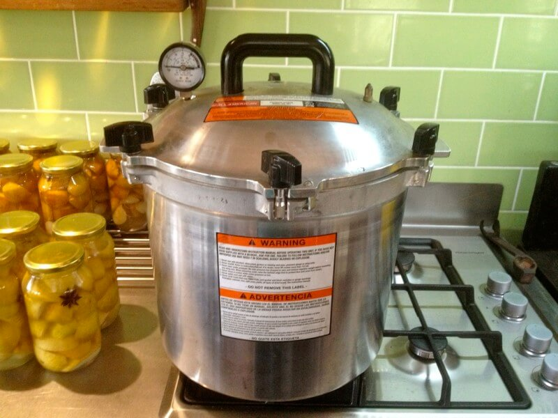 The All-American 921 Stove-top Pressure Cooker.