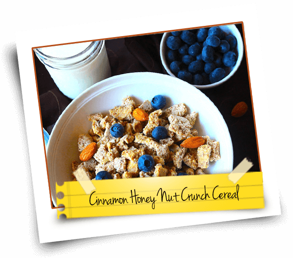 Cinnamon Honey Nut Crunch Cereal