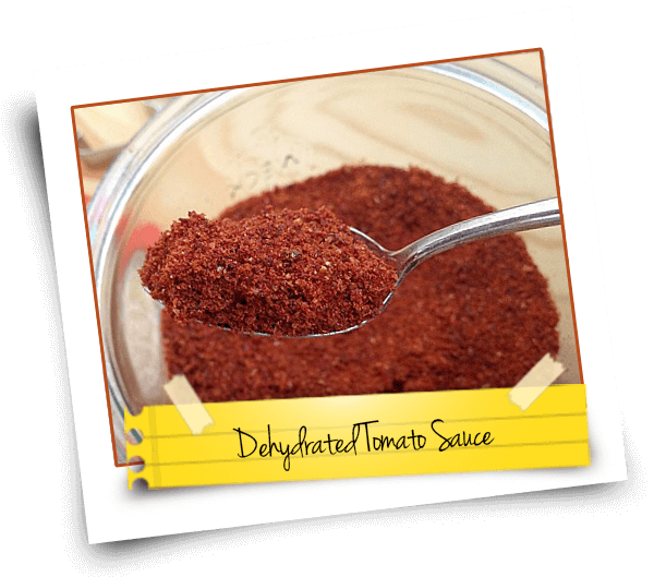 Dehydrated Tomato Sauce