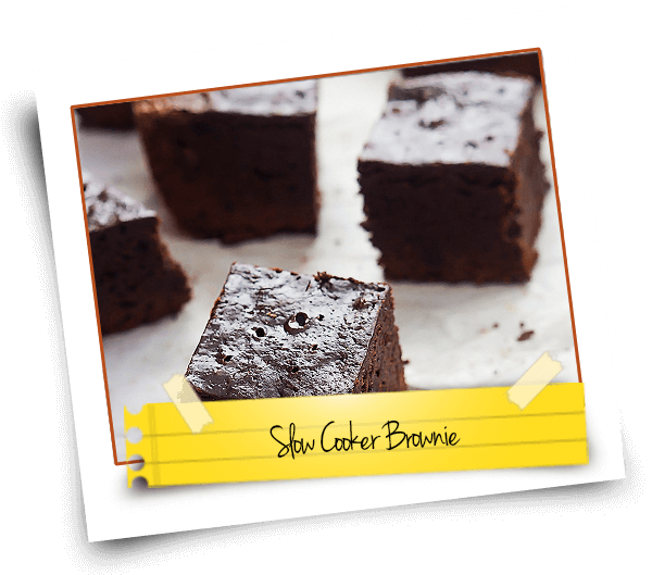 Slow Cooker Brownie